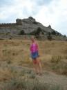 Генуэзская крепость...высшая точка - башня Девичья - 300 метров над уровнем моря