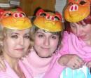 три поросенка в год розовой свиньи)