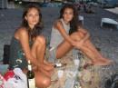 винца попили с утра, рассвет встретили)))блин как романтишно!!!только вот если бы был еще и любимый человечек,то вот оно - счастье...