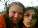 я и Настёна!!