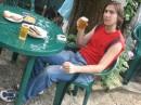 У друга во дворе. Пивас с рыбкой =))