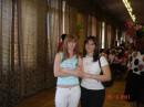 май 2007г.)) в школе на последнем звонке))