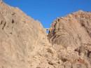 Спуск с горы Моисея (Египет)