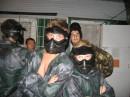 Я с однокашниками на пеинтболе(я на переднем плане слева). Одесса. 20.07.2007