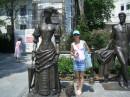 Дама с собачкой, с Чеховым и Олей
