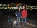 Я и Мама в аэропорту Борисполь.