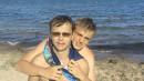 Это Димон и Бодя на берегу