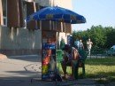 Easy... get your simcards& callcredit on the street..he he :) ( Kherson)