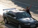 Тачка на прокачку :) Бедняжка.., превыкла ездить по Киеву, а тут оп :) и Крымские горы :) Кто ездил, тот меня понимает :)