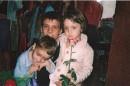 я со своими любимыми братом и сестрой