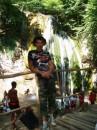 Дошол до водопада и белого каления))))