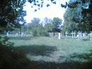 Кладбище,находящееся через дорогу от моего дома...Классный вид с окна)))Нравится?!