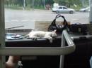 Наш частый пассажир на торпеде :)