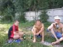 Отдыхаем на берегу озерца :)