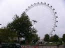 London eye. The world's tallest observation wheel at 135m high.