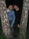 Это я с моим другом Русланом, в ботанике