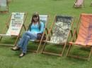 В парке в Лондоне:)