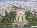 Place du Trocadero - view from Eiffel Tower