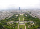 View from the Eiffel Tower. Paris at your feet.