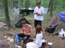 В лагере у французов