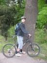 Ось так я виглядаю на велосипеді
