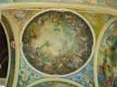 Wonderful paintings on the ceiling of the Kolonada