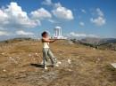 Беседка Семи ветров на горе Роман-Кош