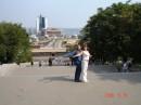 на потемкинской лестнице в Одессе