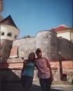 с Максом в Мукачевском замке
