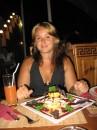 в греческом ресторанчике :))