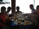 Замечательный ресторанчих на пляже Алушты...