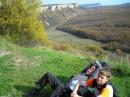 Бодька и Яцик на горе