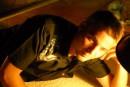 вечернее лежание под фанариком :)