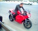 Сразу предупреждаю, мотоцикл не мой!