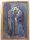 """Умопомрачительная картина, одна из моих самых любимых - Пабло Пикассо """"Две Сестры (Свидание)"""" 1902 (Эрмитаж)"""