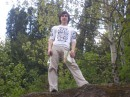 Я,да еще в лесу!