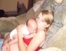 я с моим малявочкой!!!