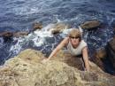 это я на море, тоже даФно, но все же морА