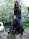 я со своим любимым пёсиком.... правда милашка??? ;)