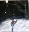 бомжА на снегу
