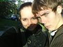Я и мой друг Тара)))Фотки кста с его телефона...