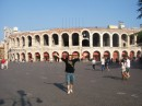 Theatre in Verona ( still is the scene for different plays)