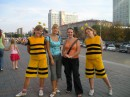 я с Дашкой и пчелками в Минске!