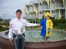 Болгария - Албена(не удачный день - холодно и дождь был) ! Справа мой БРАТ ! ! ! :)