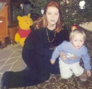 Это я с сыном