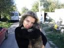 С котиком Кузей