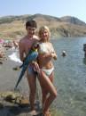 Вот такие в Судаке летают попугаи.