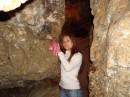 Це найдовга печера, яка знаходиться у Тернопільській обл. в селі Кривче (от куди мене занесло), загальна довжина її сягає 400 км... Ми пройшди лише 2,5 км (  Це камінь бажання...