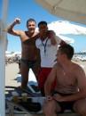 на пляжике ...