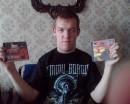Я с 2 альбомами арии!